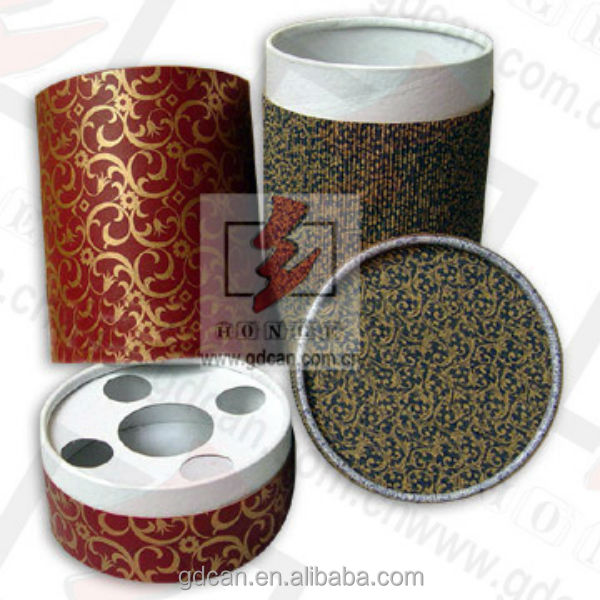 2014 new design fashion paper tube for golf wholesale