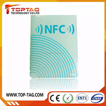 Best price rfid 13.56mhz antenna mini ntag203 rfid nfc tag for galaxy s4