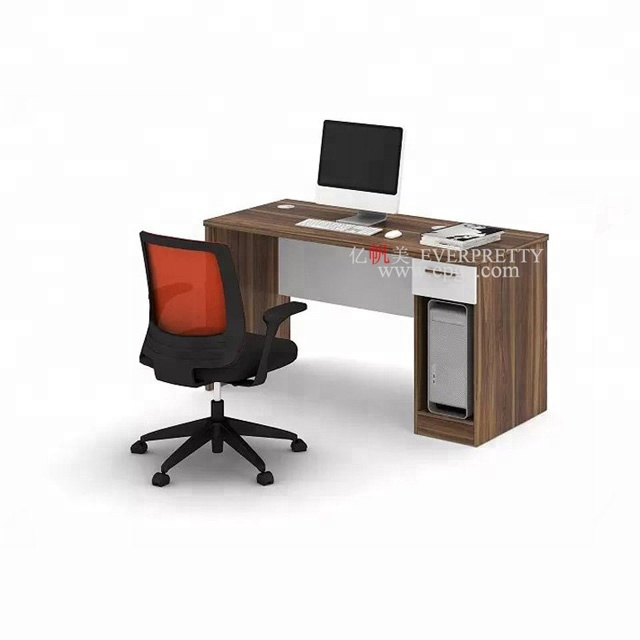 High Quality Wooden Office Computer Table Models with Drawers