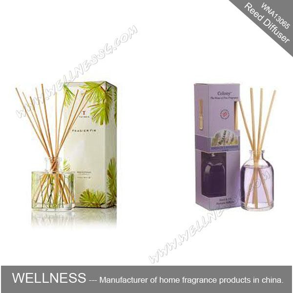home fragrance reed oil diffuser with natural sticks