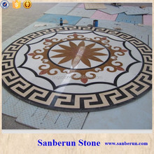 waterjet marble tiles design floor pattern for Sale