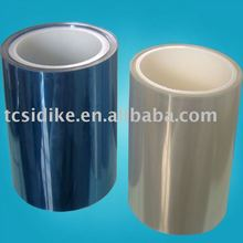 Transparent blue protective film
