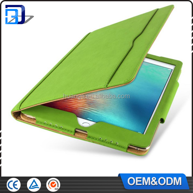 Multifunction 9.7 inch tablet slot design synthetic leather protective case for iPad tablet universal protective
