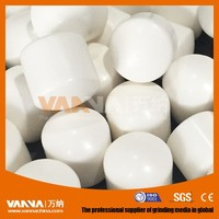 13mm 15mm 17mm wear-resistance alumina ceramic grinding cylinder in China