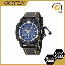 Classic design 5atm waterproof OEM logo wrist watches for men
