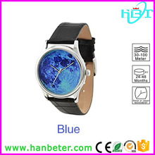 OEM design Shenzhen manufacture special dial japan movement stainless steel watch back
