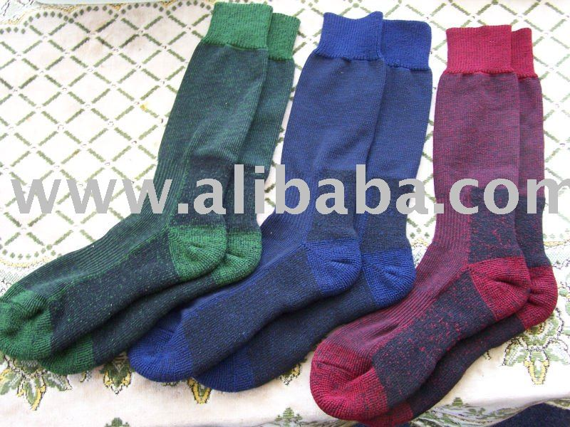 MERINO WOOL SOCKS . NEW ZEALAND MADE