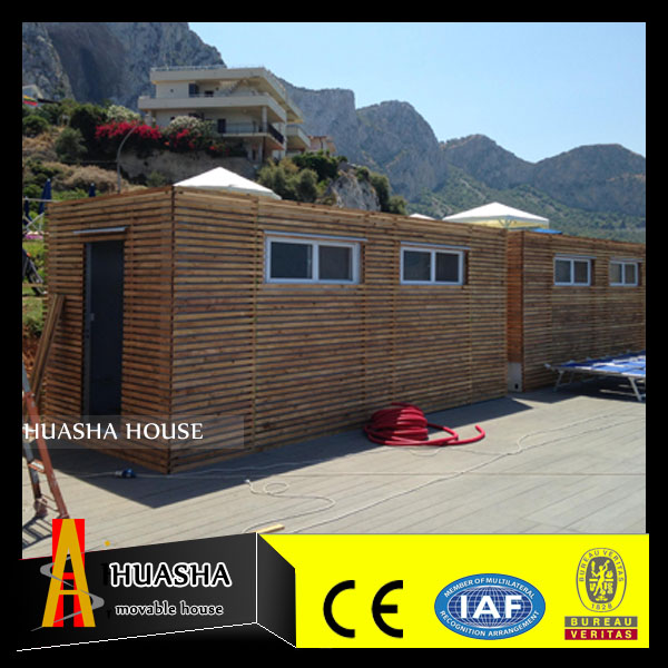 Cheap prefabricated wood frame garden kit house for sale