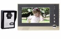 Rainproof and night vision 7'' color wireless video doorbell or indoor monitor and outdoor camera