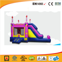 2016 cheap birthday party inflatable bouncer castle /inflatable jumping castle for kids and adults