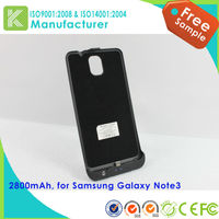 3800mah backup case of external power pack for samsung galaxy note 3