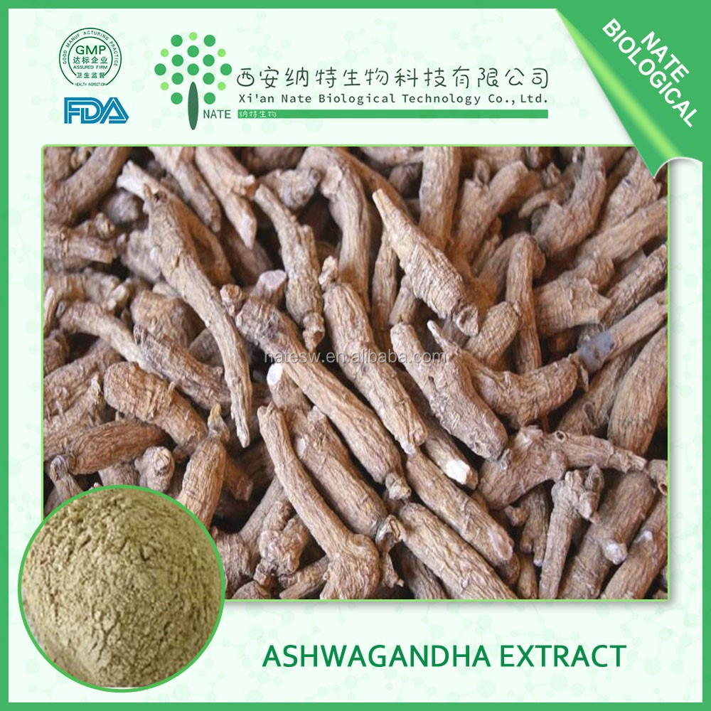 Anti allergy Indian ginseng extract Ashwagandha Root Extract 30% withanolides In Stock