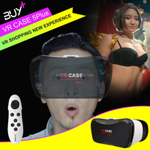 2017 Hot sale vr glasses video japanese 3d vr glasses manufacturer China