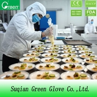 Disposable Polythene Clear Plastic Gloves Kitchen
