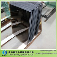 3mm/4mm/5mm/6mm tempered stained glass panel for building with ISO,CCC