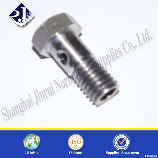 bolt manufacturer head markings special head bolt M12 hex bolt with hole