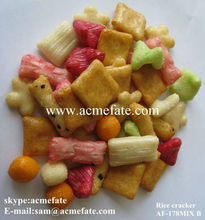 Japanese rice crackers colourful rice cracker Taiwan snack foods