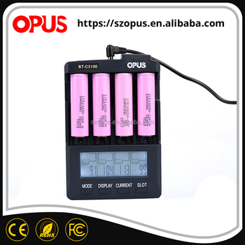 Good price of battery capacity show li ion battery charger