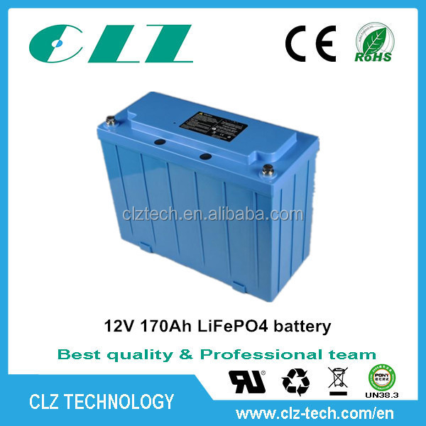 Hot products large capcity 12v 24v 100ah 150ah 200ah lithium ion/ lifepo4 battery/street light solar battery