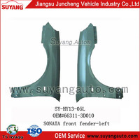 Front Fender With Turn Signal Holes-Left for HYUNDAI SONATA auto spare parts trading companies