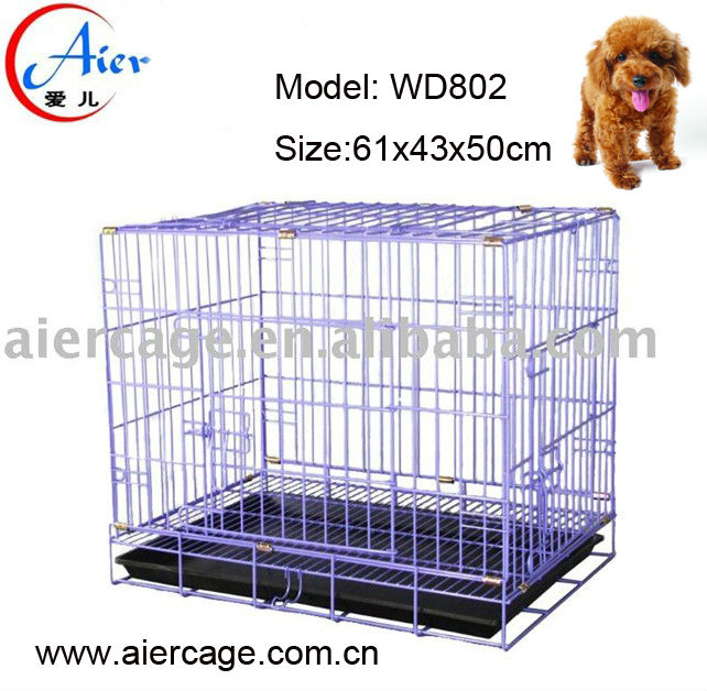 pet supplies folding dog transport cage for sale