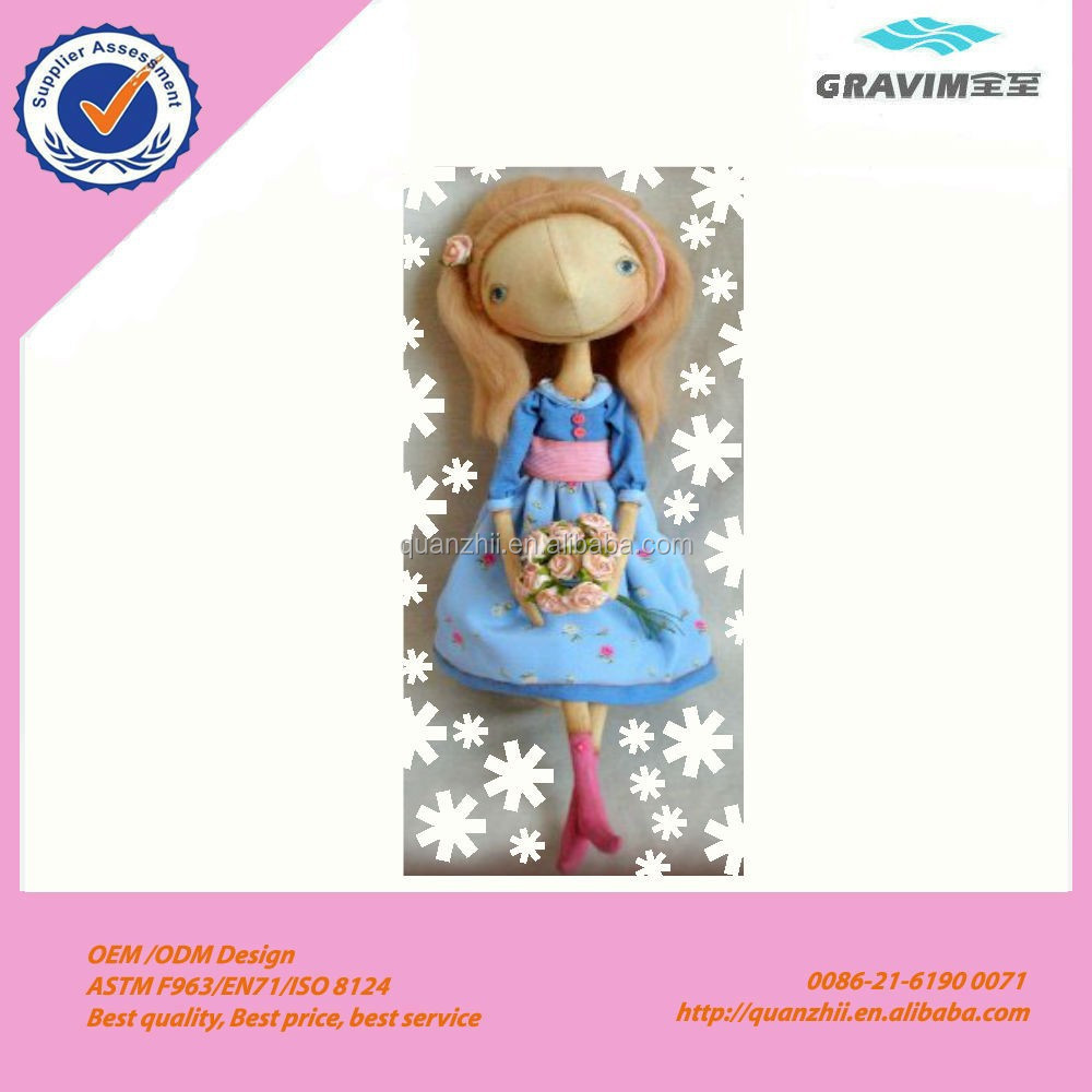 hand flower girl doll toy,hot new products for 2015