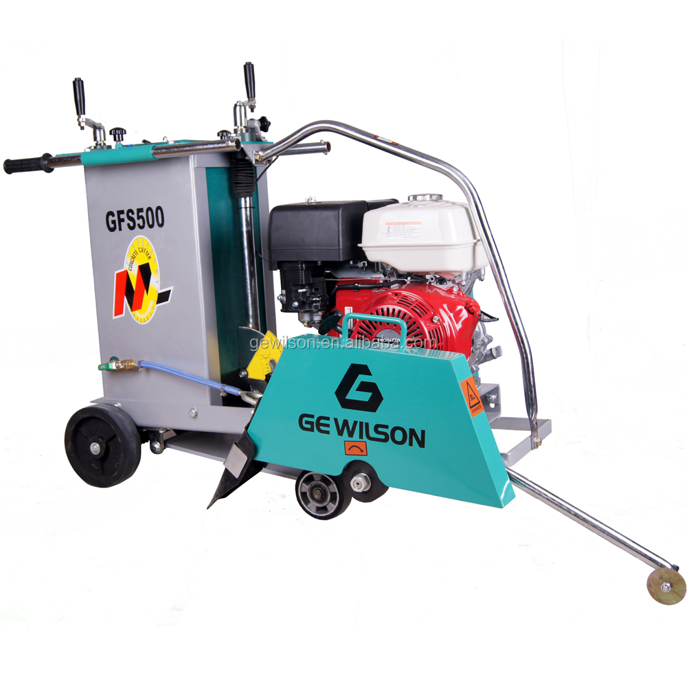 Gasoline Walk-behind Concrete Saw Cutter Machine for Floor cutting