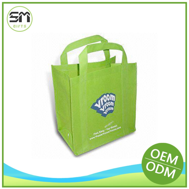 Natural style factory design eco friendly easy shopper non woven bag