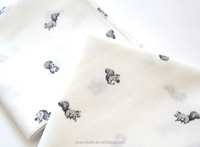 2015 soft fashion animal printed handkerchief