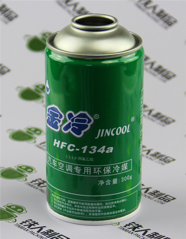 Metal Empty Aerosol Tin Plate Cans