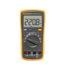 Fluke 15B+ Handheld Digital Multimeters for AC/DC Resistance Measuring Tester 1000V DMM with TL75 test leads