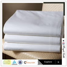 250TC Cotton or cotton / polyester hotel bedding set and duvet cover