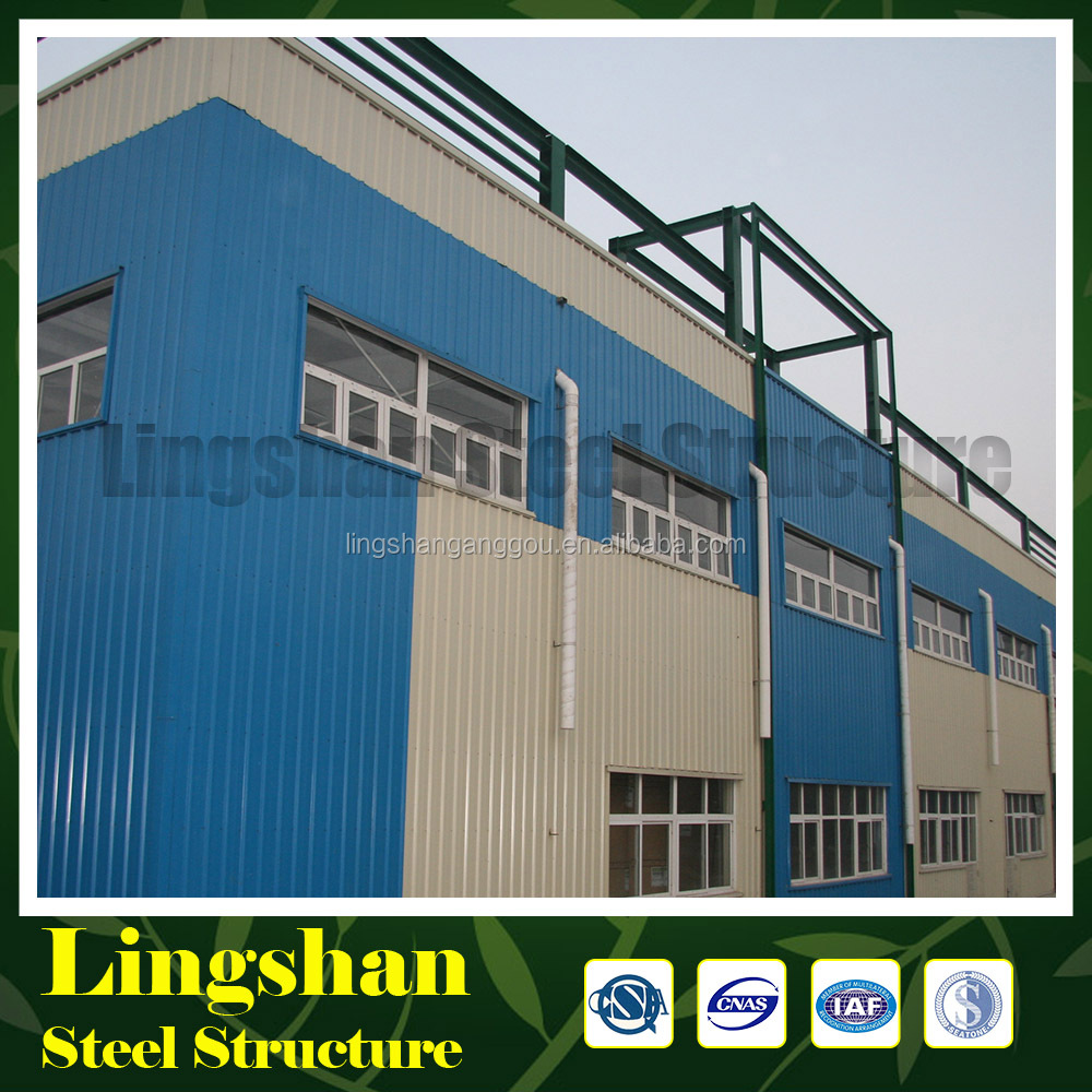 Corrugated Light Steel Structure Warehouse/Workshop