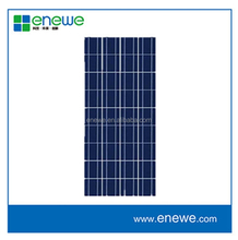 130w polycrystalline high quality ce certificate pv solar panel
