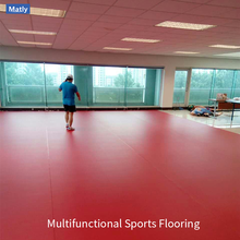 High Quality PVC Sports Flooring for Comprehensive Gymnasium