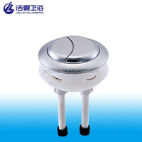 Dual flush round push button for water tank