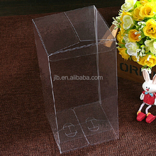 Hot Sale Promotional Gift Package ,Small Clear PVC Plastic Box with Hanger Supplier