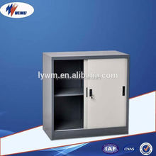 Uniform Design Metal Sliding Door Credenza Storage Filing Cabinet
