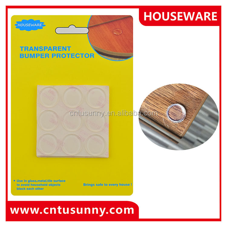 Promotional glass cushion pads