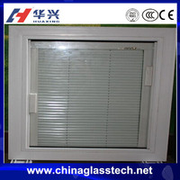 New pattern Australia standard many colors available upvc profile Size customized tempered glass oval shutter window