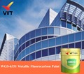 WGS-6351 Metallic Fluorocarbon Paint, fluorocarbon coating, metallic paint