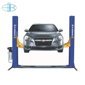 3.5 ton 2 post car lift with reinforced base plate