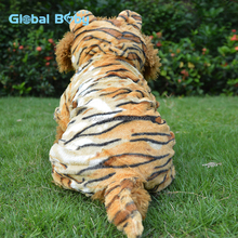 Animals style tiger pattern dog costume polar fleece dog clothes