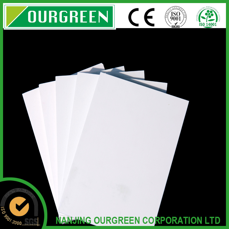Hot selling matt surface PVC rigid sheets, white extruded polyurethane panels