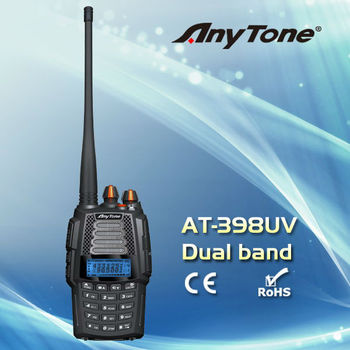 Anytone AT-398UV Dual band handheld two way radio