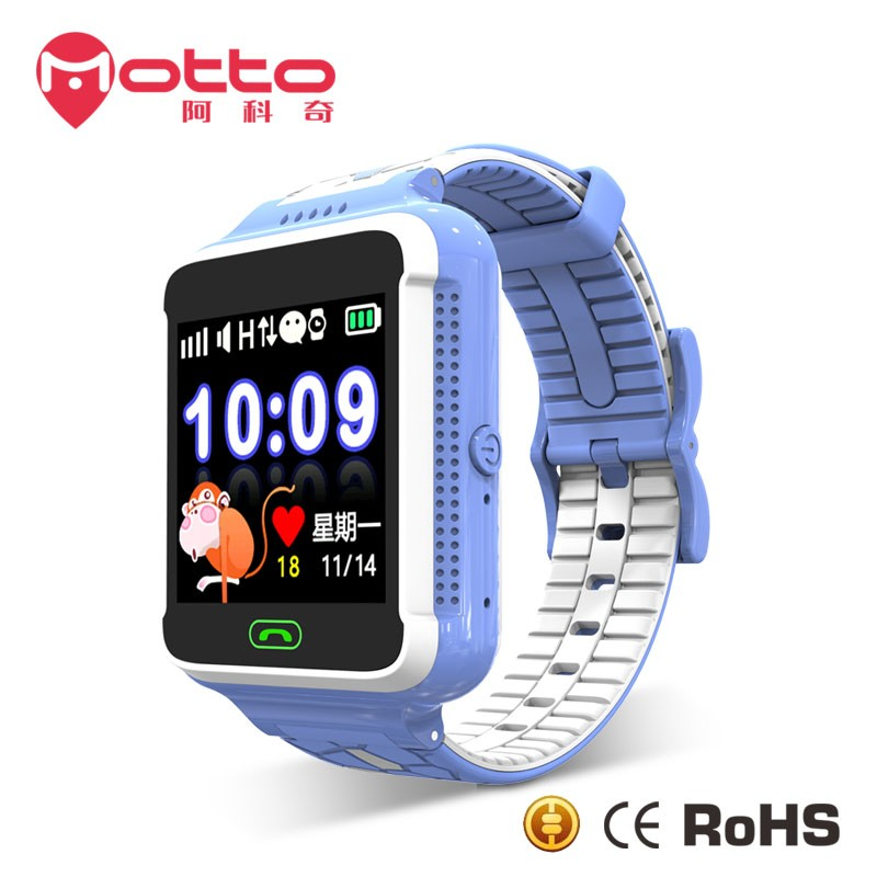 2017 Hot selling children gps smart watch phone with 1.54 inch touch screen