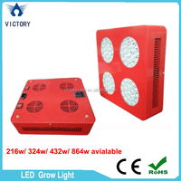 LED Grow Light Veg Bloom Two Channels Grow 216w Greenhouse LED Grow Lighting