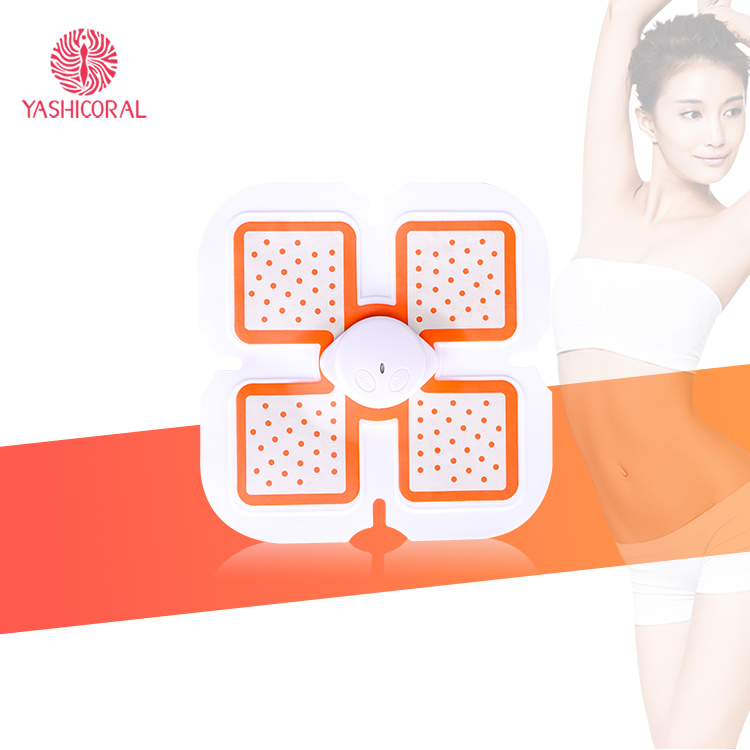 Light Design Waist Trainer Belts Electric Wave Body Shaper Slimming Massager Lose Weight