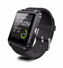 2014 hot sales U8 Bluetooth Smart Watch Suitable for Business, Sport, Sleeping with Pedometer, Picture Capture