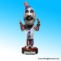 "Polyresin House Of A 1000 Corpses Captain Spaulding 7"" 18cm Head Knocker Figure"